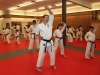 William Max Winkler Leading Traditional Karate Class