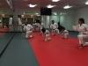 Hidy Ochiai Leading Karate Class in Ashburn VA