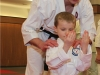 Sensei Winkler with Little Panda in Ashburn VA