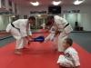 Little Pandas Martial Art Student Karate Kick Ashburn, VA