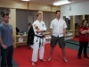 Sensei Winkler with attendees
