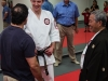 Sensei Winkler and Master Ochiai with Attendee