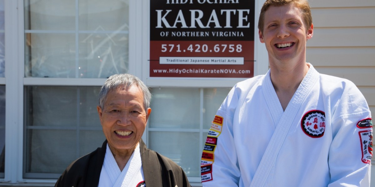 Will Winkler and Master Hidy Ochiai