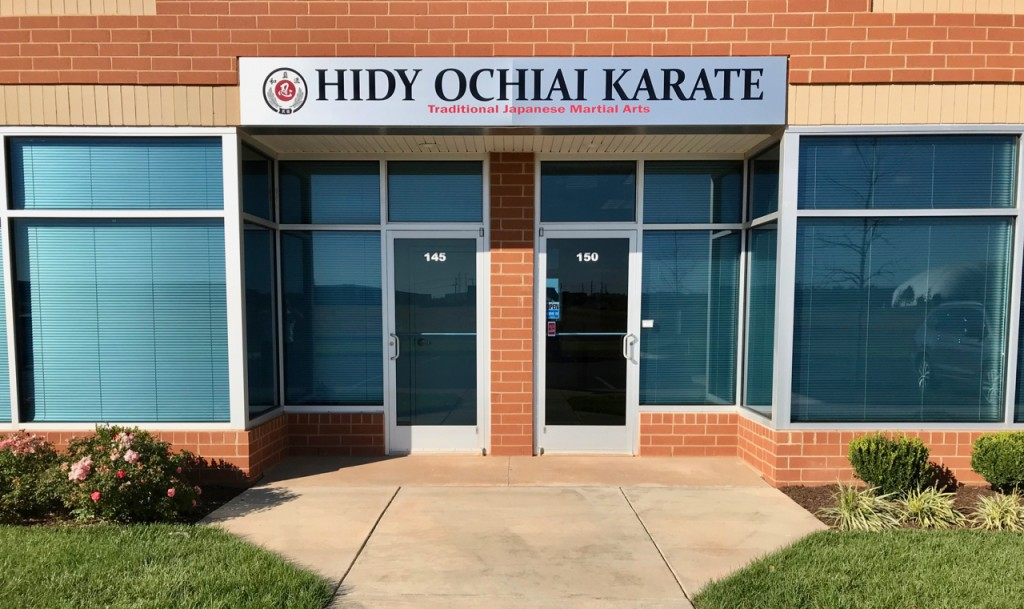 Hidy Ochiai Karate Front Door Ashburn VA