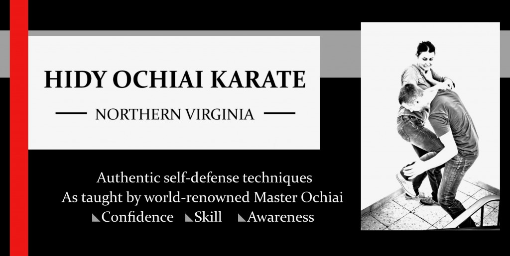 Hidy Ochiai Karate NOVA Self-Defense